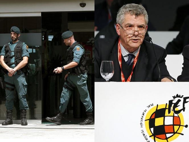 Detienen a presidente de Federación Española de Futbol | El Imparcial de Oaxaca