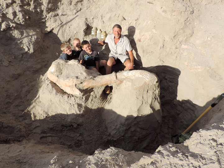 Niño encuentra por accidente fósil de 1.2 millones de años | El Imparcial de Oaxaca