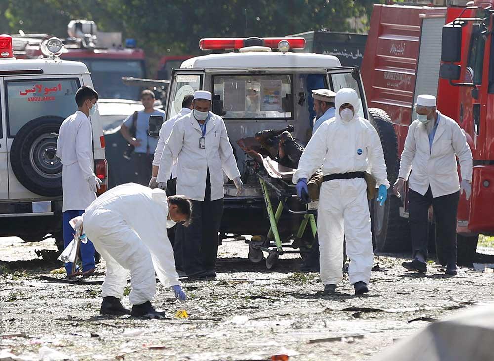 Atentado en Afganistán deja al menos 35 muertos | El Imparcial de Oaxaca