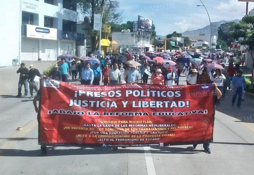 Este domingo marcha Sección 22 en Oaxaca   El Imparcial de Oaxaca