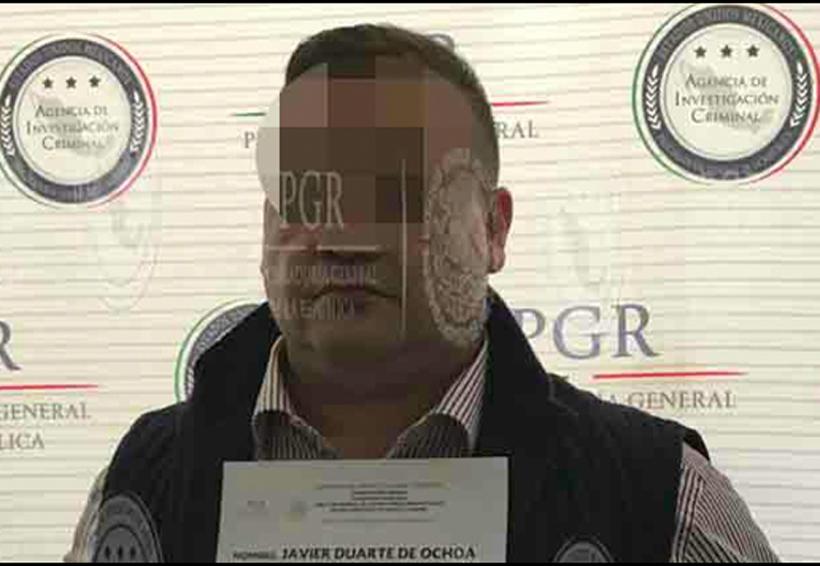 Acusación contra Duarte sustentada en testigo colaborador de PGR | El Imparcial de Oaxaca