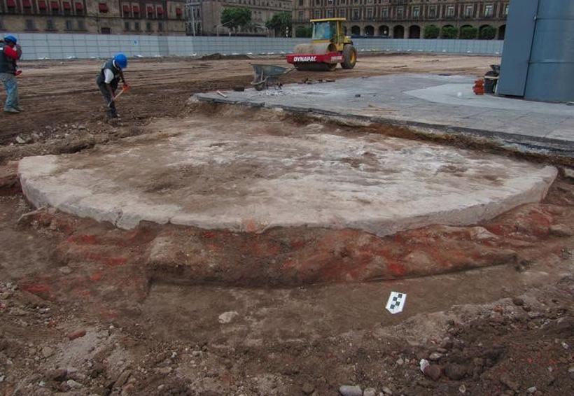 INAH descubre el verdadero 'Zócalo' de la CDMX de 174 años de antigüedad | El Imparcial de Oaxaca