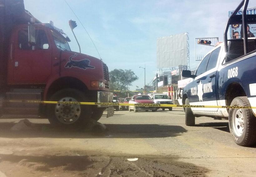 Muere mujer atropellada por camión de tres toneladas en Oaxaca | El Imparcial de Oaxaca