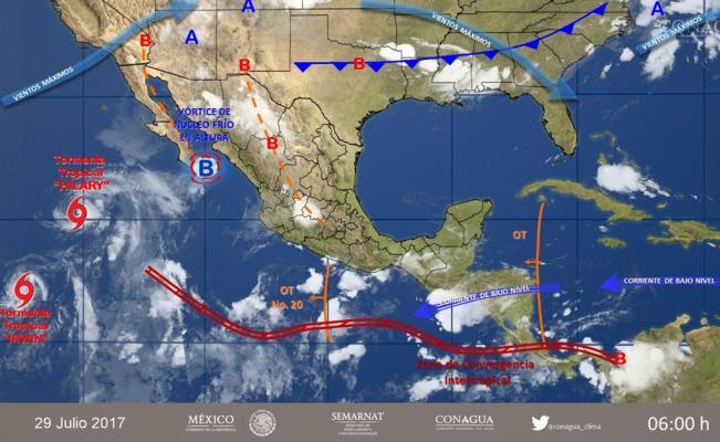 Se prevén tormentas fuertes en Oaxaca este sábado | El Imparcial de Oaxaca
