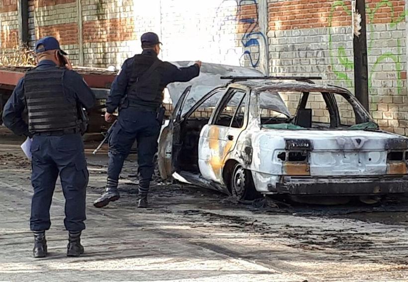 Encuentran en Oaxaca cadáver en taxi calcinado | El Imparcial de Oaxaca
