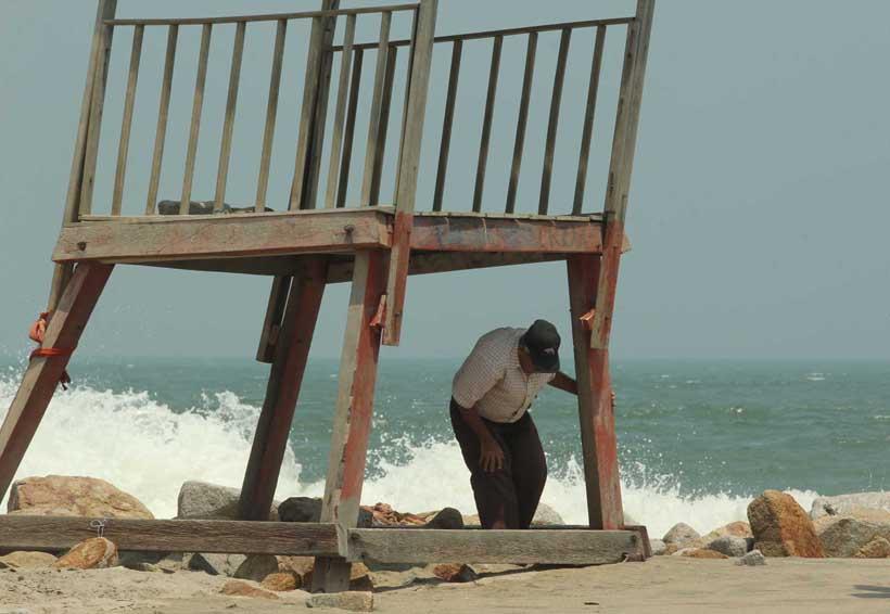 Emiten nueva alerta por mar  de fondo   El Imparcial de Oaxaca