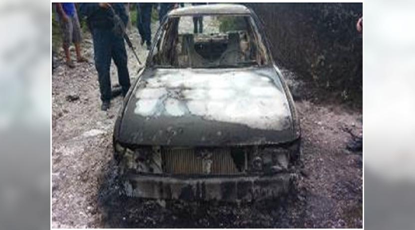 Hallan otro  vehículo  calcinado en San Luis Amatlán | El Imparcial de Oaxaca