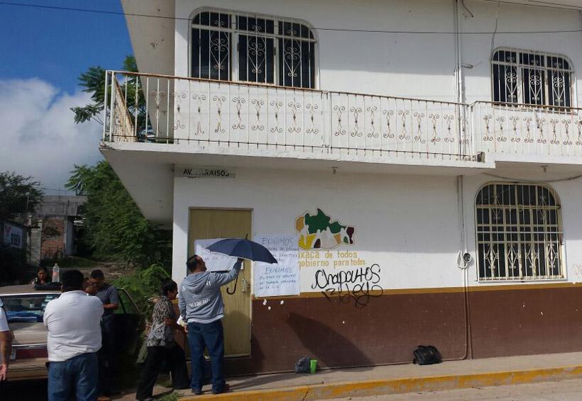 Bloquean oficinas del IEEA en la Mixteca | El Imparcial de Oaxaca