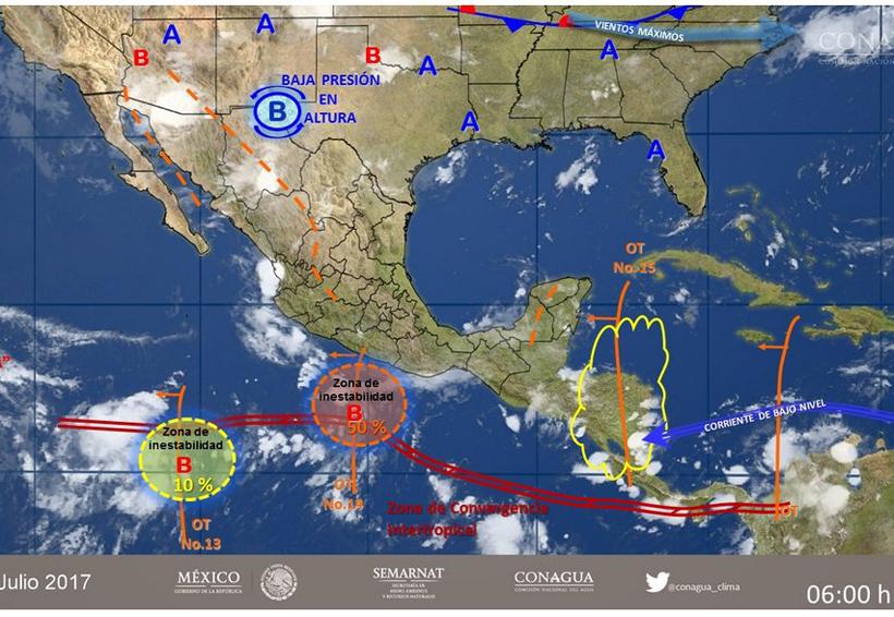 En todo el país continuan las fuertes lluvias | El Imparcial de Oaxaca