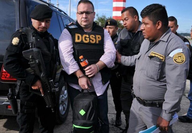 Javier Duarte ya está en México; lo llevan al Reclusorio Norte para su primera audiencia | El Imparcial de Oaxaca