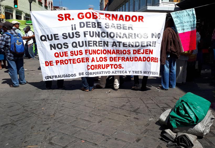 Exigen castigo para  defraudadores de cajas en Oaxaca | El Imparcial de Oaxaca