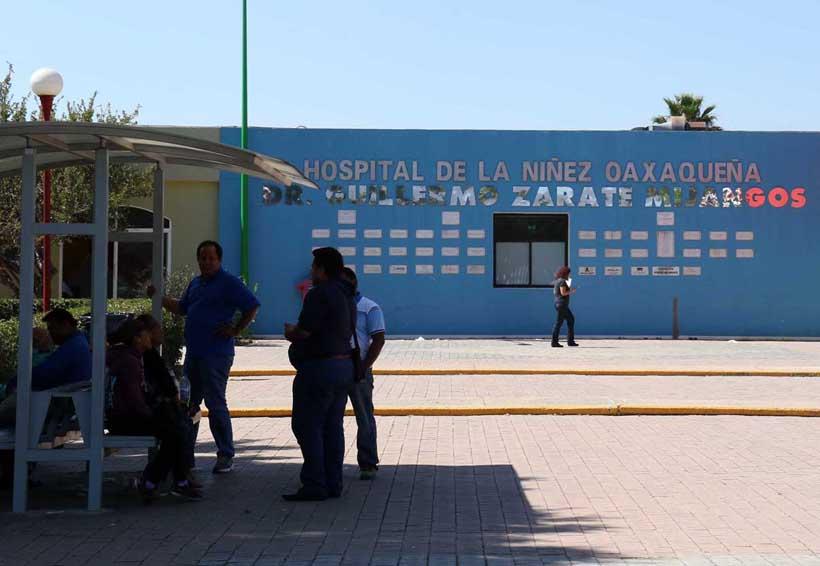 Amagan con parar Hospital de la Niñez; no hay medicamentos | El Imparcial de Oaxaca