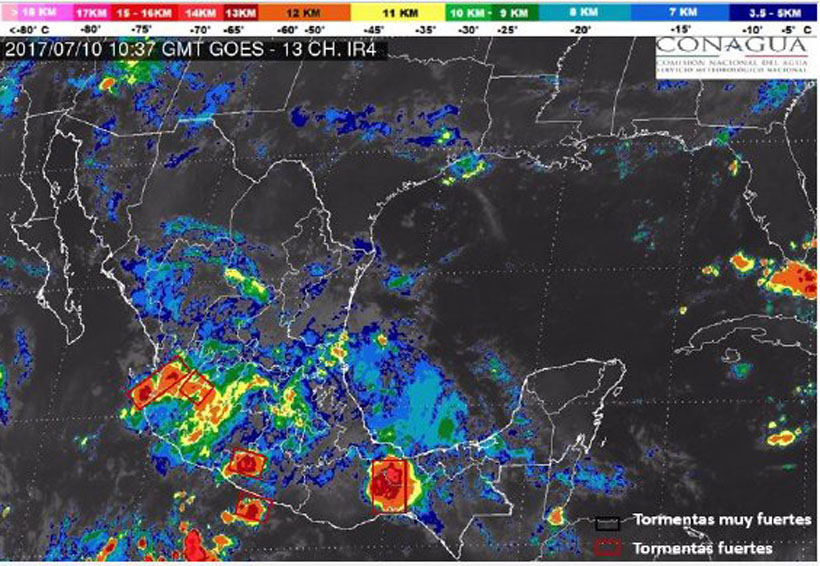 Hoy, posible día lluvioso | El Imparcial de Oaxaca