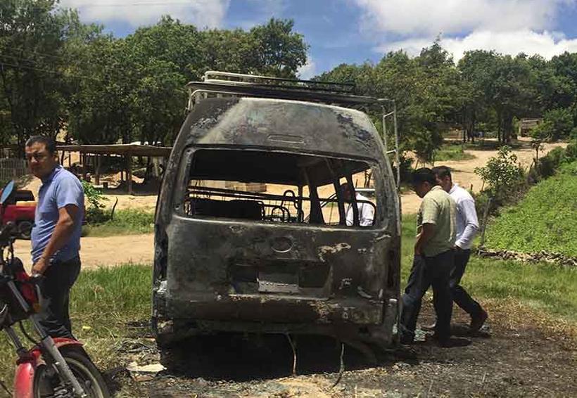 ¡Arde colectivo! | El Imparcial de Oaxaca
