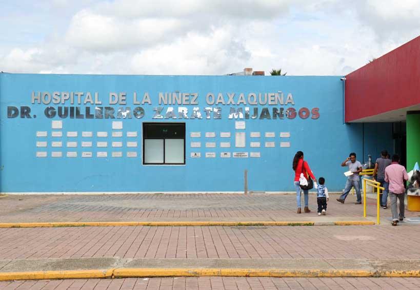 Hospital de la Niñez Oaxaqueña en paro por falta de recursos | El Imparcial de Oaxaca