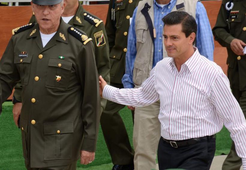 En 4 meses, Peña paga 98.5 mdp en publicidad; la mitad de gasto se concentra en el Ejército | El Imparcial de Oaxaca