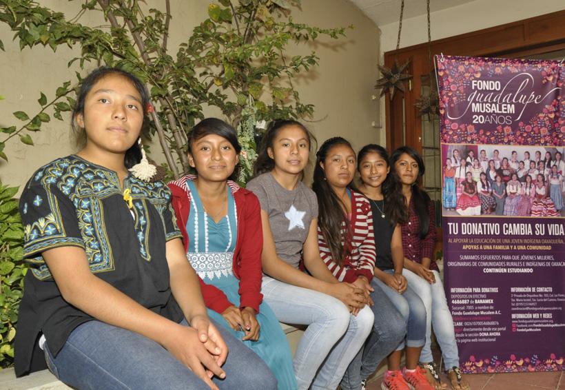 Jóvenes oaxaqueñas, los rostros de la esperanza | El Imparcial de Oaxaca