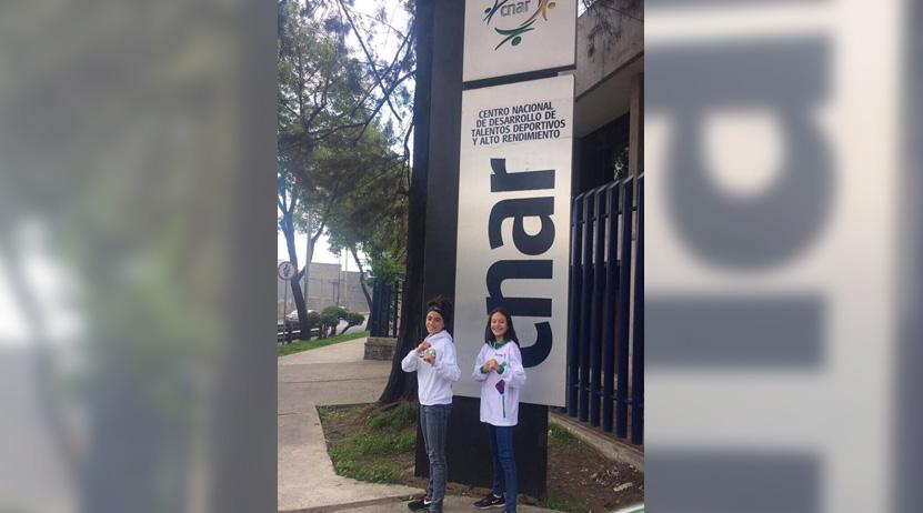 Vania y Amairani pulen su técnica en el CNAR | El Imparcial de Oaxaca