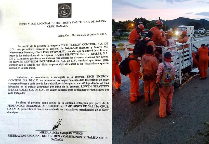 Liquidan a 22 obreros en Salina Cruz   El Imparcial de Oaxaca