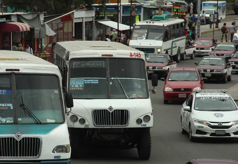 Sin fecha para activar plan de reordenamiento en transporte   El Imparcial de Oaxaca