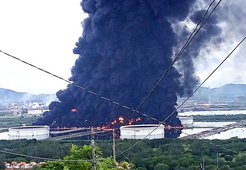 Daño irreparable en el Istmo por fuga en la refinería   El Imparcial de Oaxaca