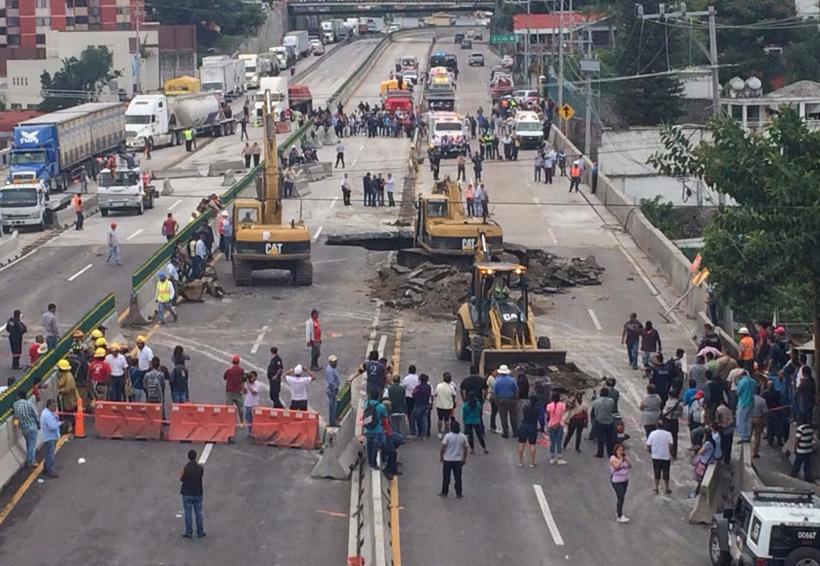 Ni paso ni exprés: obra fracturada | El Imparcial de Oaxaca