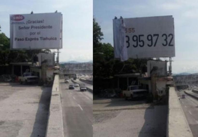 Después de la tragedia, retiran agradecimiento a Peña Nieto por el Paso Exprés | El Imparcial de Oaxaca