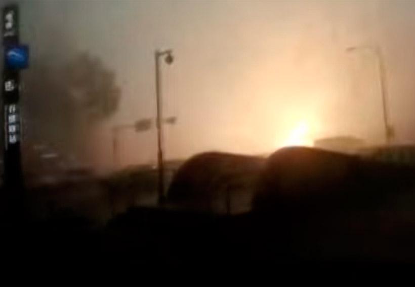 ¿El día después de mañana? Así la tormenta que azotó a China | El Imparcial de Oaxaca