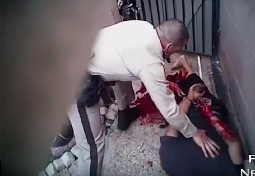 Graban impactante tiroteo entre policías y delincuentes | El Imparcial de Oaxaca