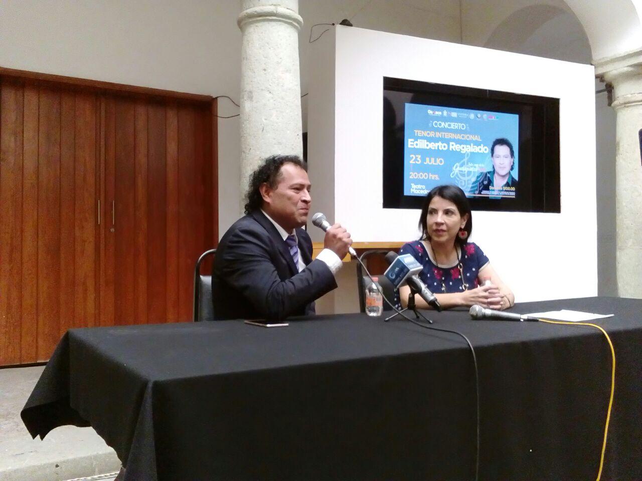 Cantará en el Alcalá el tenor internacional Edilberto Regalado | El Imparcial de Oaxaca