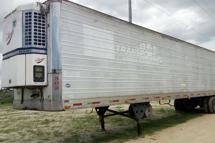 Recuperan caja de tractocamión robado | El Imparcial de Oaxaca