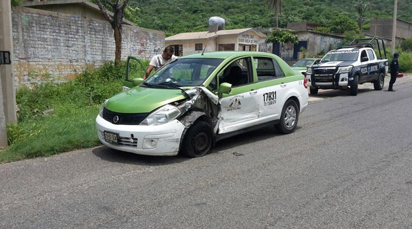 Colisiona taxi con vehículo compacto en Salina Cruz   El Imparcial de Oaxaca