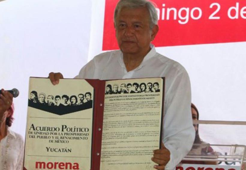 AMLO firma acuerdo en Mérida | El Imparcial de Oaxaca