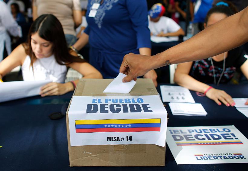 Centros de votación de plebiscito opositor operan al 100 % en Venezuela   El Imparcial de Oaxaca