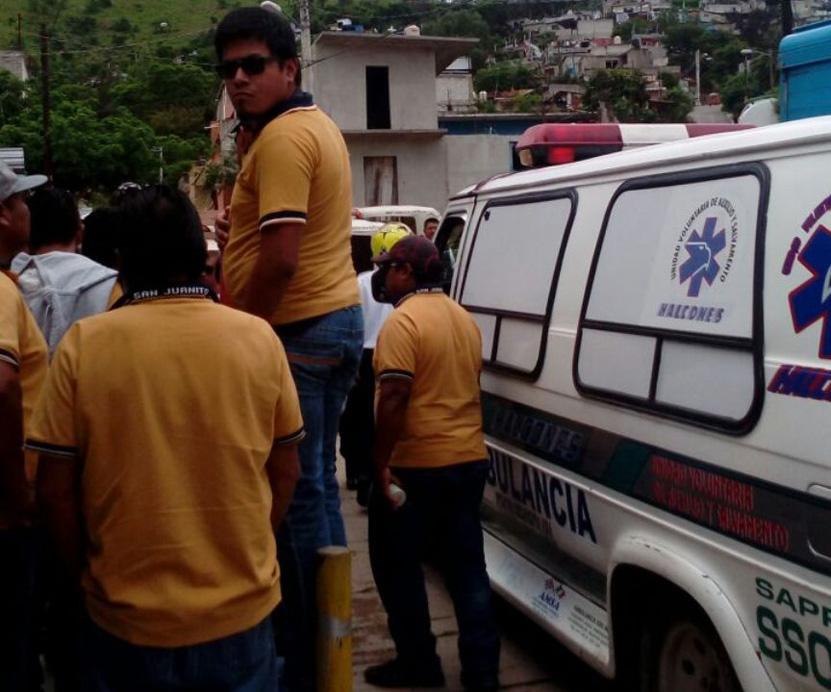 Vuelca mototaxi en la colonia del Valle   El Imparcial de Oaxaca