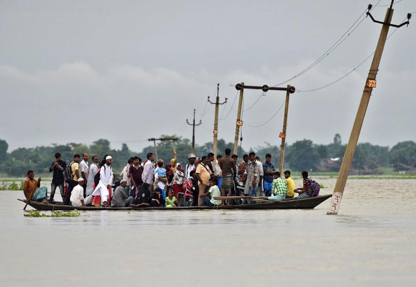 Al menos 1.2 millones de afectados por inundaciones en India | El Imparcial de Oaxaca