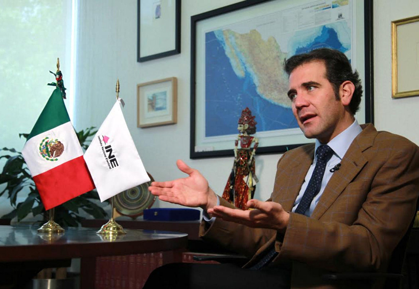 El lunes, INE dará a conocer el fallo sobre fiscalización de elecciones: Córdova | El Imparcial de Oaxaca