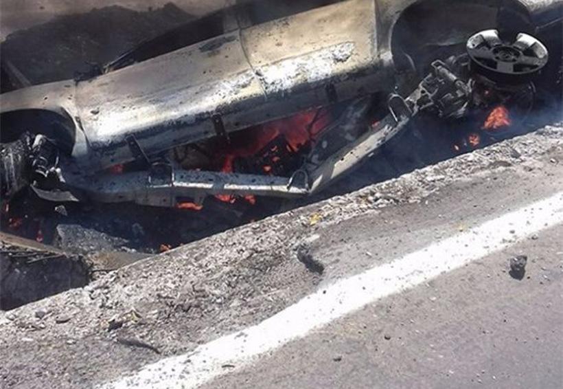 Muere calcinado tras sufrir una terrible volcadura | El Imparcial de Oaxaca