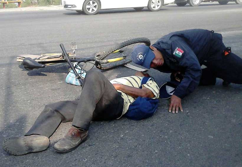 Atropelló a un ciclista y lo mató | El Imparcial de Oaxaca