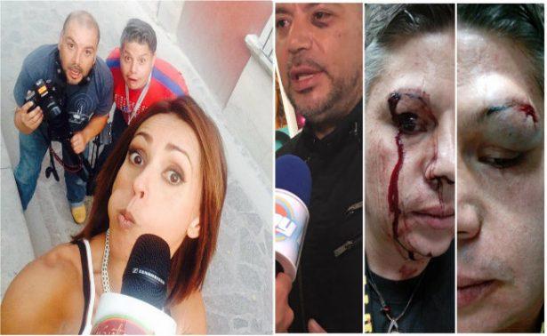 Golpean a reportera de Televisa más de 20 sujetos   El Imparcial de Oaxaca