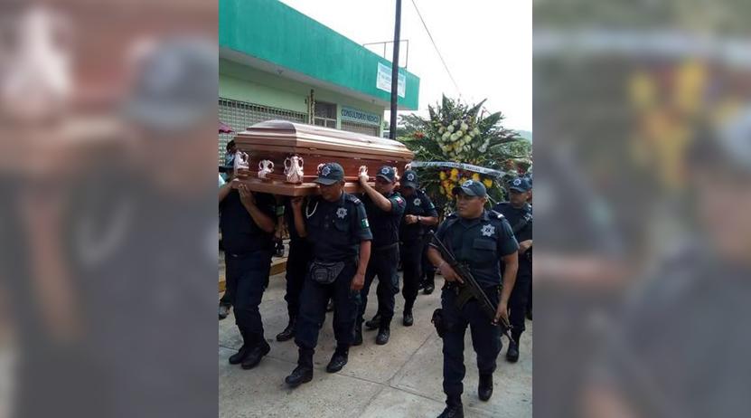 Despiden con honores  a Pabic en Guichicovi | El Imparcial de Oaxaca
