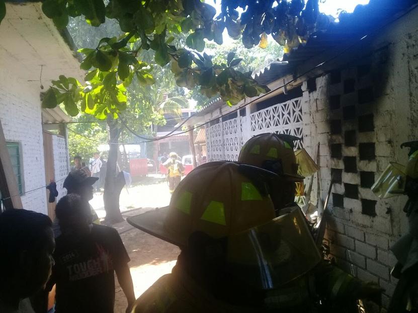 Arde habitación en Puerto Escondido | El Imparcial de Oaxaca