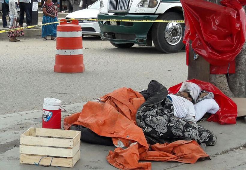 Muere en avenida de la Central de Abasto de Oaxaca | El Imparcial de Oaxaca