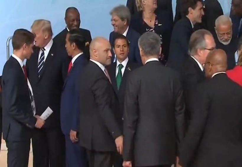 Video: Peña nieto ignorado por líderes del mundo; Justin Trudeau lo rescata | El Imparcial de Oaxaca