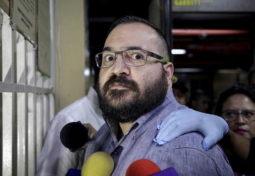 Javier Duarte afirma: 'No cometí tales delitos' | El Imparcial de Oaxaca