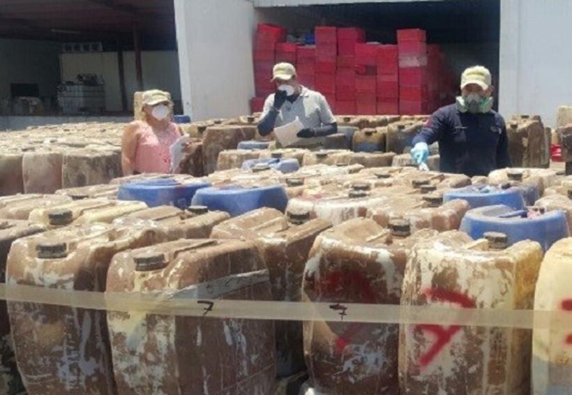 Destruye PGR 217 toneladas de precursores químicos | El Imparcial de Oaxaca