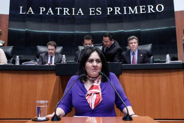 El PRI no protege a nadie, dice la senadora Diva Gastélum | El Imparcial de Oaxaca