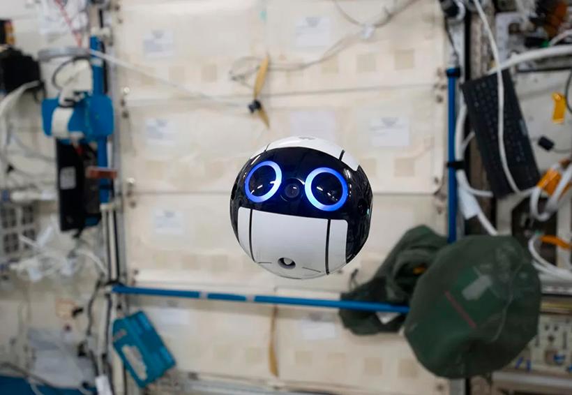 El drone de la Estación Espacial Internacional es simplemente adorable | El Imparcial de Oaxaca