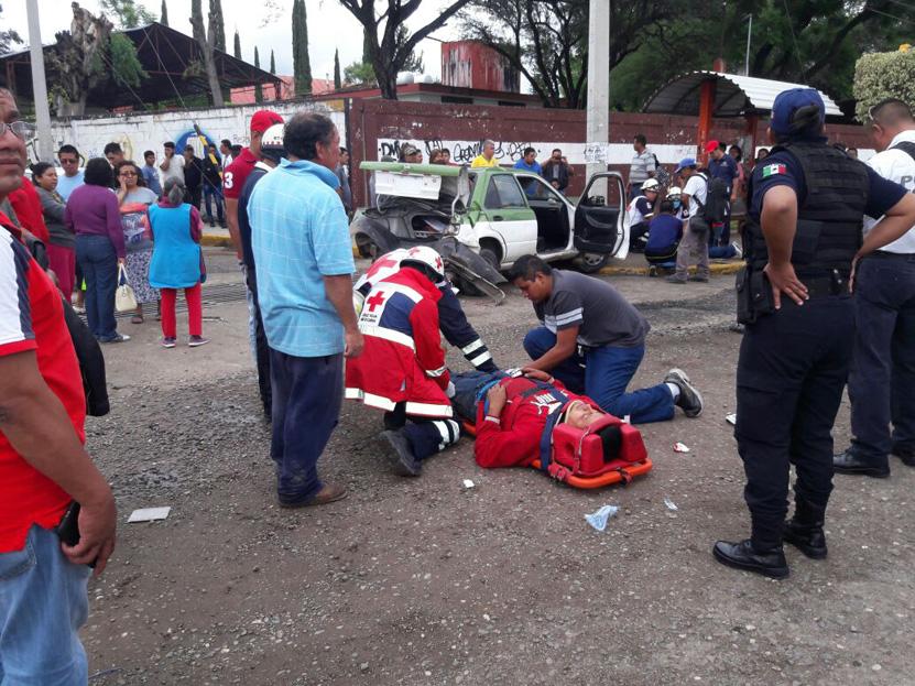¡Aparatoso choque! en Huajuapan de León | El Imparcial de Oaxaca
