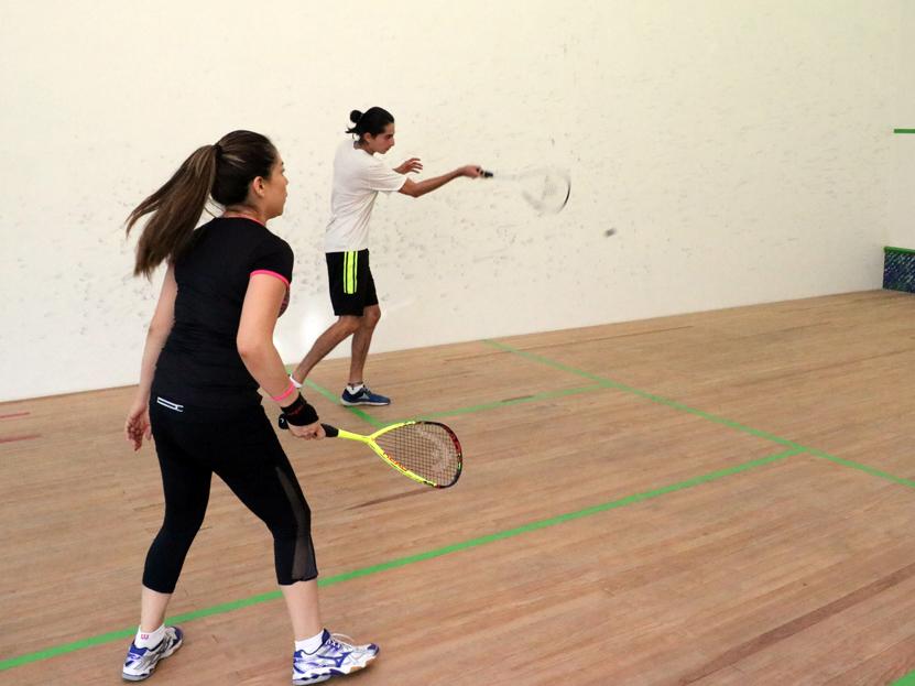 Comenzó la fiesta de squash con buen ánimo y participación | El Imparcial de Oaxaca